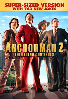 Anchorman 2: The Legend Continues (Super-Sized Version) (2014)