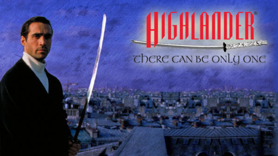 Image result for highlander the series logo