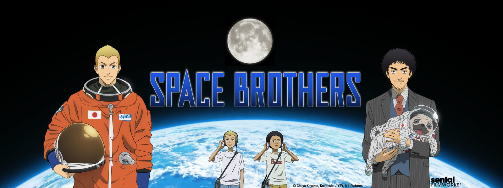 [ANIME/MANGA] Space Brothers (Uchuu Kyoudai) 20909?size=1600x600&region=US