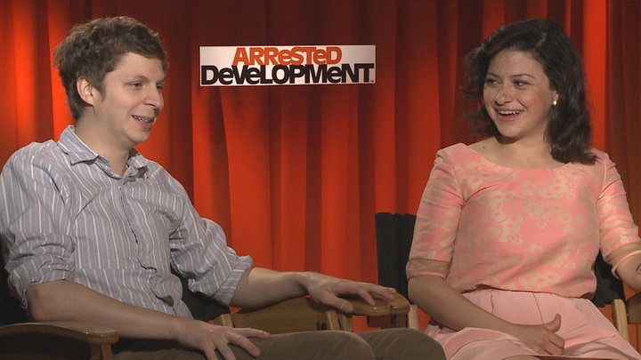 Access Hollywood - Michael Cera & Alia Shawkat Return to Arrested Development