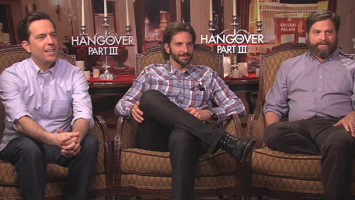 Access Hollywood - The Hangover Part III: Heather Graham Grills Bradley Cooper, Ed Helms & Zach Galifianakis