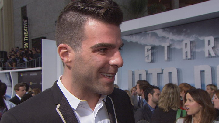 Access Hollywood - Star Trek Into Darkness LA Premiere: Zachary Quinto Looks Back