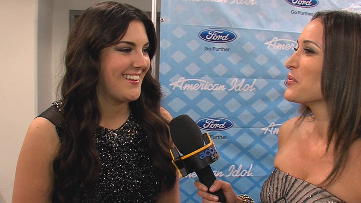 Access Hollywood - Kree Harrison Is Freaking Proud of Candice Glover Winning 'American Idol' Season 12
