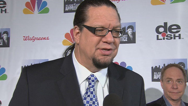 Access Hollywood - Penn Jillette Calls Apprentice Winner Trace Adkins Classy As You Can Get