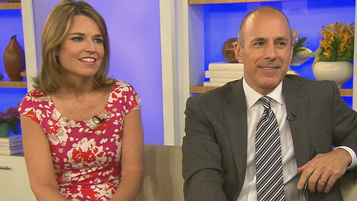 Access Hollywood - Matt Lauer & Savannah Guthrie Discuss the Today Show's Rollercoaster Year