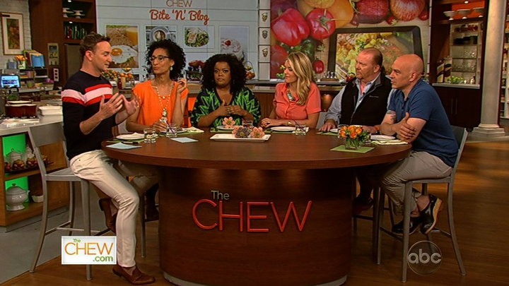 The Chew - Chat N Chew: Bite N Blog