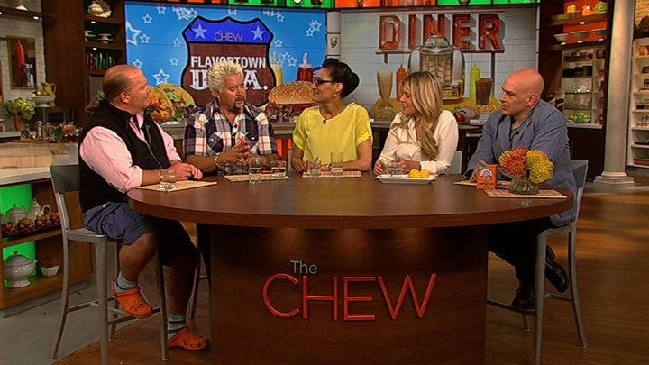 The Chew - Guys Love for Mom and Pop Joints