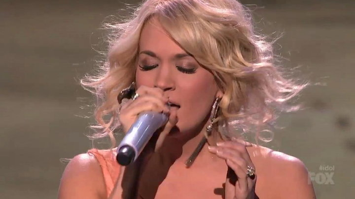 American Idol - Carrie Underwood Performs See You Again