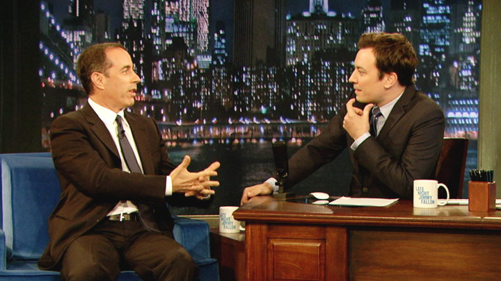 Late Night with Jimmy Fallon - Jerry Seinfelds Web Series Is Back