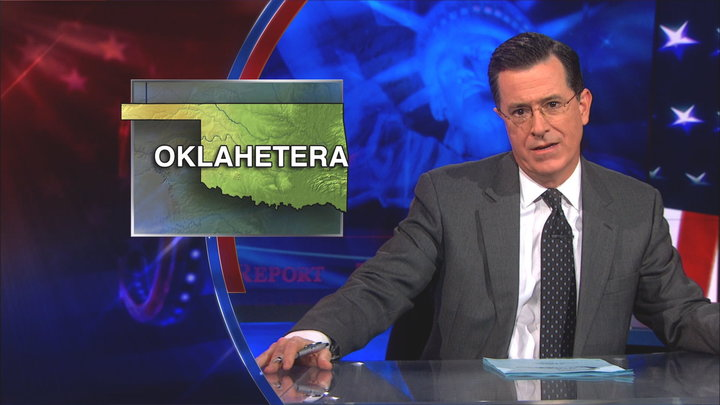 The Colbert Report - Mary Fallin and Same-Sex Benefits