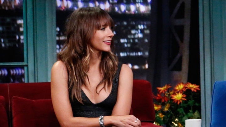 Late Night With Jimmy Fallon - Rashida Jones Parks and Rec Run Is Ending