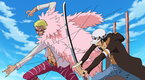 One Piece - (Sub) A Showdown Between the Warlords! Law vs. Doflamingo!